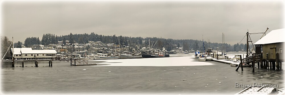Harbor Ice by Bryan Peterson