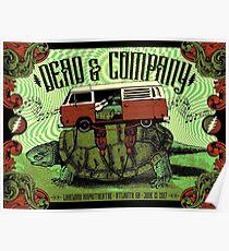 Dead Company June 13 2017 Lakewood Amphitheatre Atlanta GA Poster