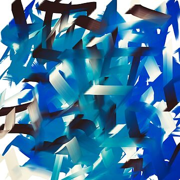Pinceles azules de NoraMohammed