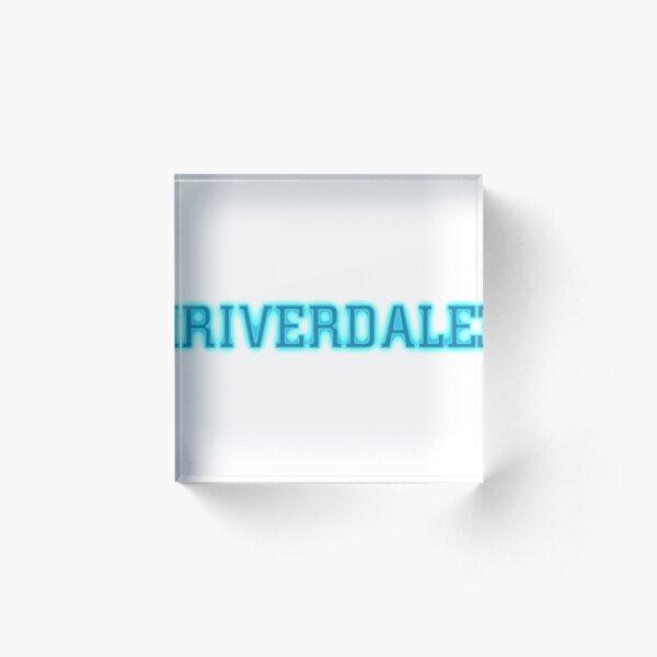 Riverdale Acrylic Block