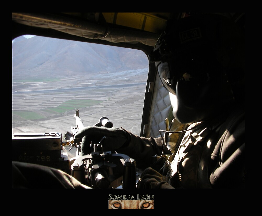CH-47 Door Gunner by KombatMario