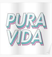 PURA VIDA PASTEL Poster