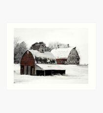 South Dakota Farm Art Print