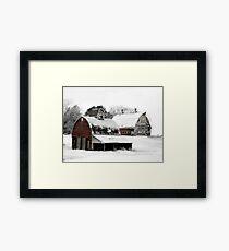 South Dakota Farm Framed Print