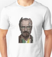 Walter White Faces - Breaking Bad Unisex T-Shirt
