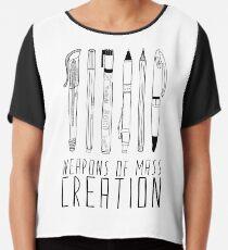 Weapons Of Mass Creation Chiffon Top