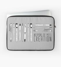 Weapons Of Mass Creation Laptop Sleeve