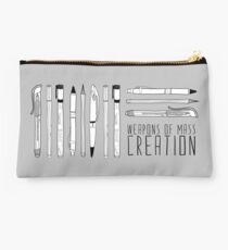 Weapons Of Mass Creation Studio Pouch