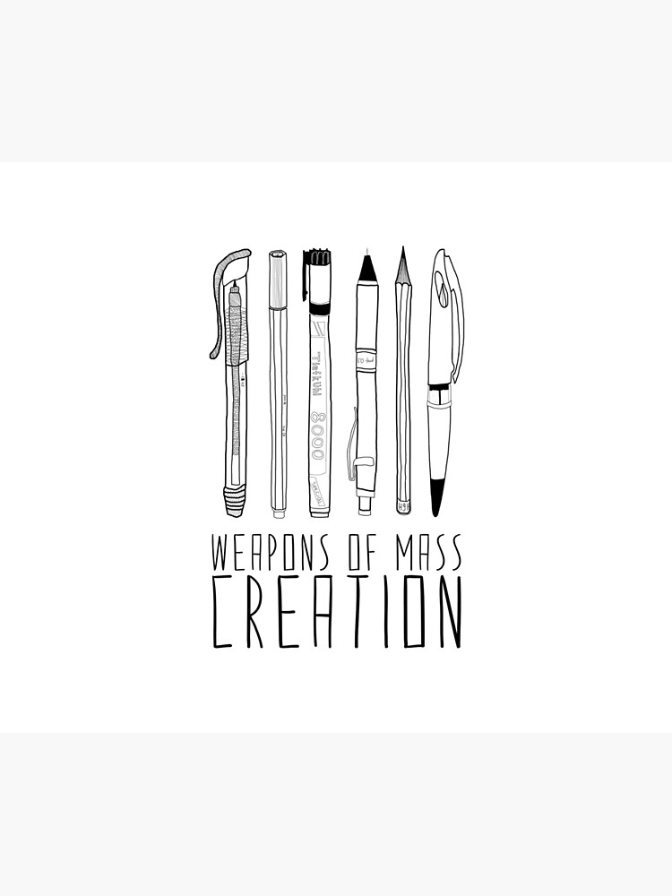 Weapons Of Mass Creation by BiancaGreen