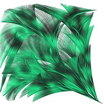 Olas de mar verde de NoraMohammed