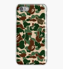 BAPE OG Green Camo iPhone Case/Skin