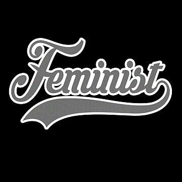 Team Feminist (sports swoosh) by starkle