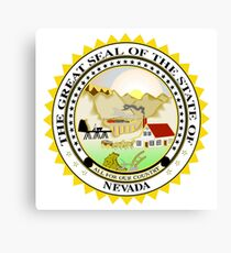 NEVADA State Seal Canvas Print