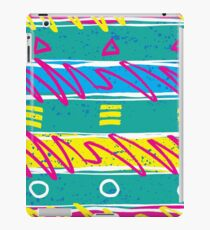 RETRO BACK TO THE 80s iPad Case/Skin