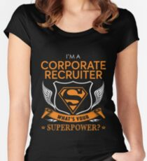 CORPORATE RECRUITER Women's Fitted Scoop T-Shirt