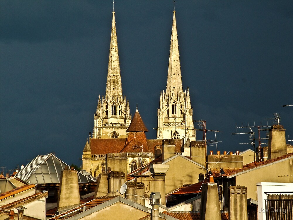 Bayonne Rooftops by Joe Dailly