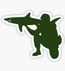 Shark Launcher Sticker