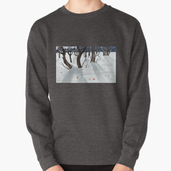 Snowy Mountains  Pullover Sweatshirt