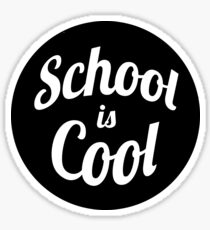 School is Cool Sticker