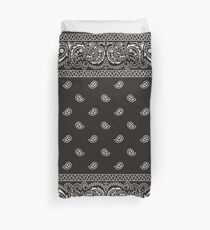 Bandana - Black - Selection Available  Duvet Cover