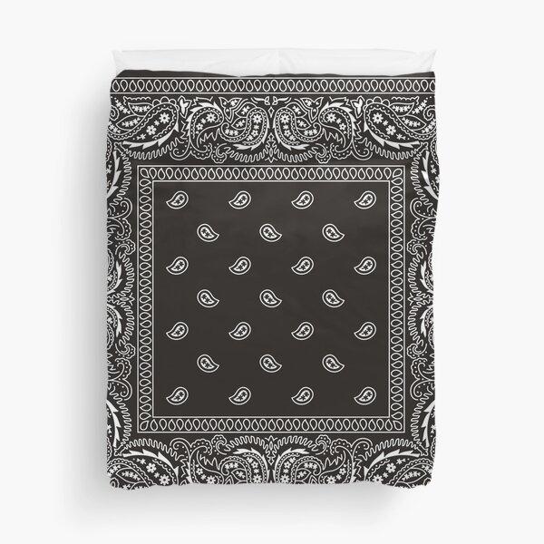 Bandana - Black - Selection Available  Duvet Cover