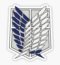 Scout Shield - Attack on Titan Sticker