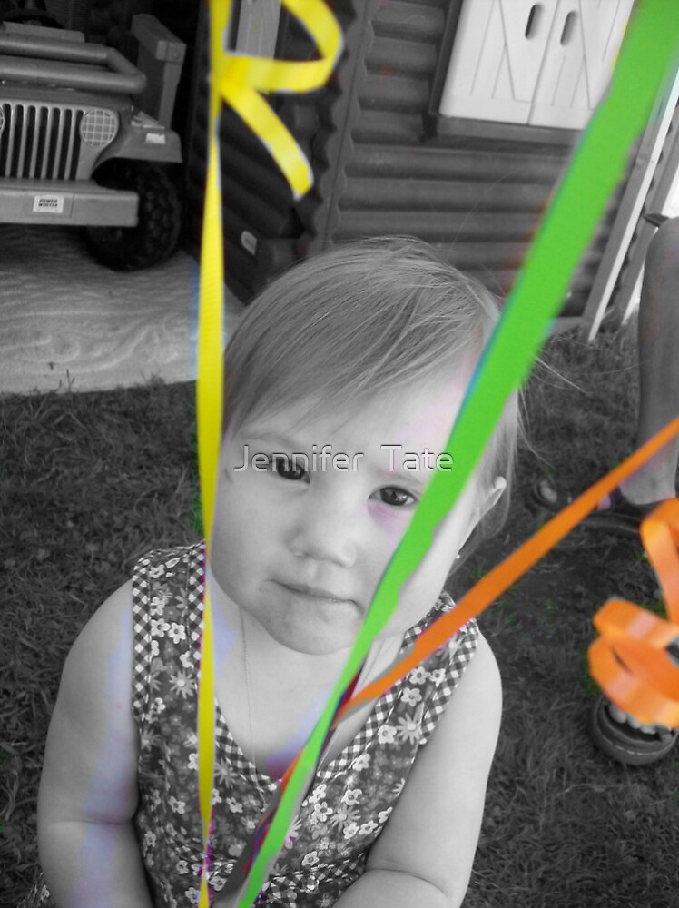 bw happy birthday selective coloring by Jennifer  Tate