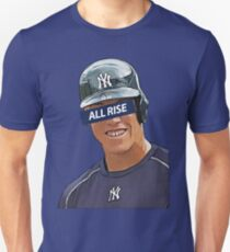 Aaron Judge - All Rise Censor Bar  Unisex T-Shirt