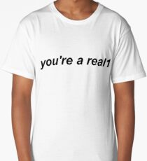 Real1 Lyrics Long T-Shirt