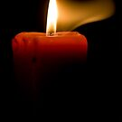 Candle Flame by Aaron  Sheehan