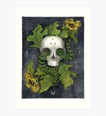 Henbane and Fern Art Print