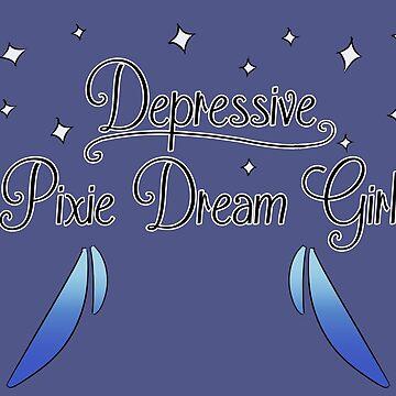 Depressive Pixie Dream Girl by piearty