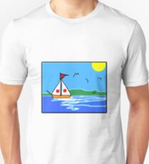 Sailing is the best therapy T-Shirt