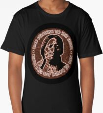 COPPER CHIEF SITTING BULL  #standwithstandingrock Long T-Shirt