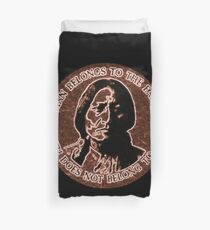 COPPER CHIEF SITTING BULL  #standwithstandingrock Duvet Cover