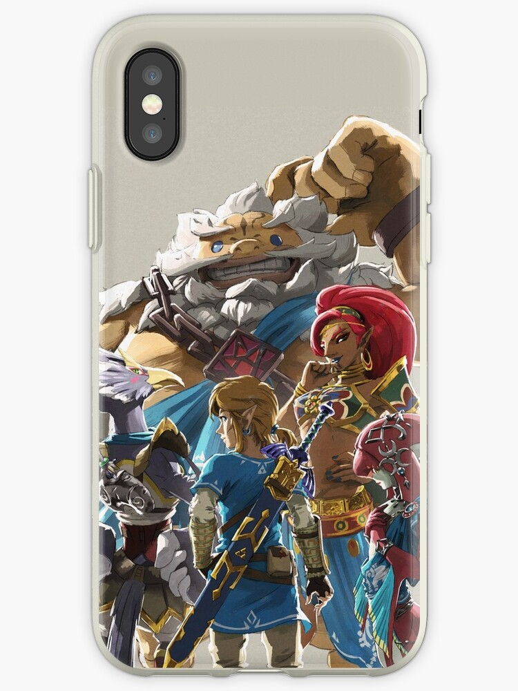 huge selection of 58302 a515f 'The Legend of Zelda - Breath of the Wild - Champion's Artwork - Link'  iPhone Case by Craig Redbubble