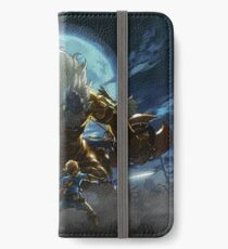 The Legend of Zelda - Breath of the Wild - Link vs Gold Lynel iPhone Wallet/Case/Skin
