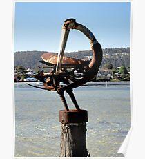 Sea Bird Sculpture, Merimbula,NSW,Australia 2011 Poster