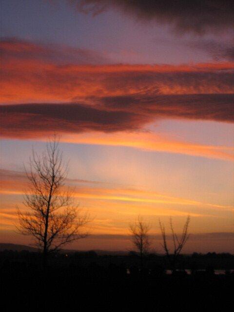"""January Sunset"" by brendanconnolly"