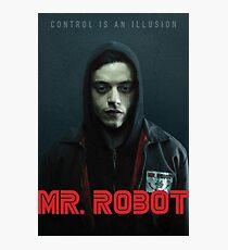 Mr Robot Photographic Print