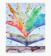 Reading Rainbows Photographic Print