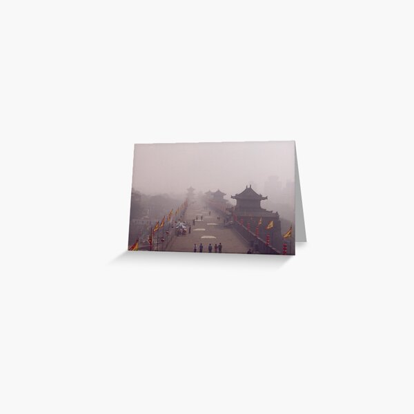 Misty Walls Greeting Card