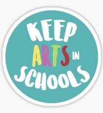 Keep Arts In Schools Sticker