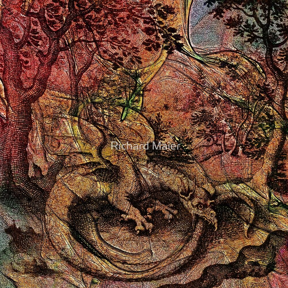 Alchemical Fire - Ouroborus by Richard Maier