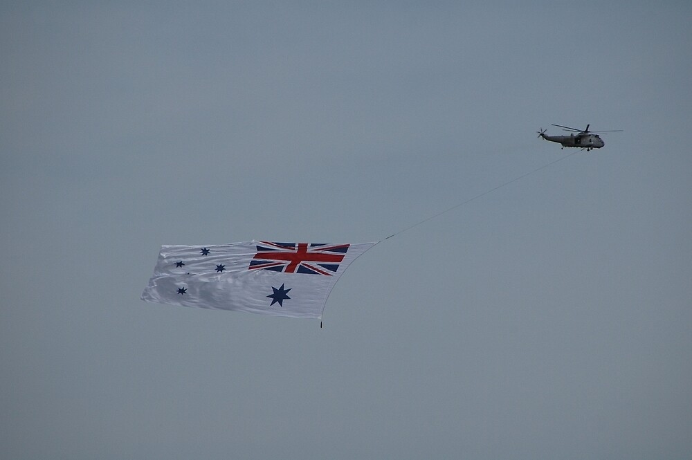 Flying The White Ensign @ Nowra Airshow 2008 by muz2142