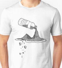 Water Bottle Mountain Unisex T-Shirt