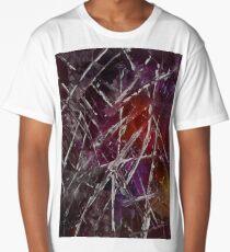 Modern Abstract Pallete - Red Long T-Shirt