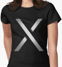 Xbox One X 3D Womens Fitted T-Shirt