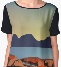 The Hazards  Women's Chiffon Top
