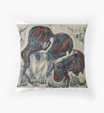 Obey, Bow Throw Pillow